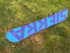 Snowboard for Sale in Federal Way, WA