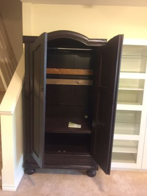 Armoire - bookcase - dresser - solid wood ! for Sale in Snohomish, WA