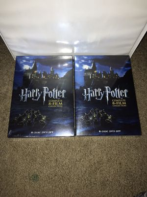 Harry Potter complete 8 film collection New $30 each for Sale in Midland, TX
