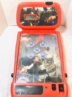 2009 Batman vs. Superman Electronic Tabletop Pinball Machine for Sale in Providence,  RI
