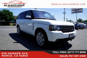 2012 Land Rover Range Rover for Sale in Norco, CA