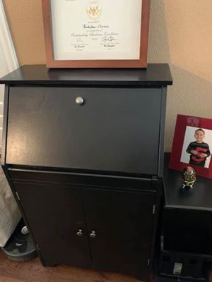 Secretary Desk with add-on side table (detached) for Sale in Corona, CA