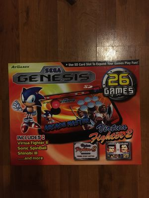 Atgames Sega Genesis SD Card game emulator virtua fighter for Sale in Monroe, WA