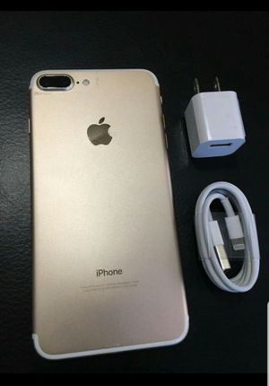IPhone 7 Plus 256 GB , UNLOCKED .  Excellent Condition  ( as like New) for Sale in Fort Belvoir, VA