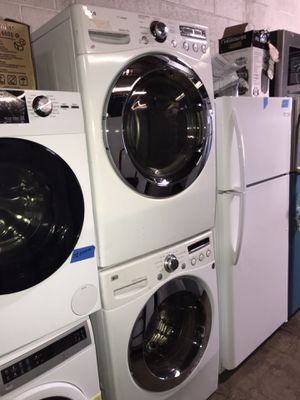 LG front load electric dryer 4 months warranty for Sale in Baltimore, MD
