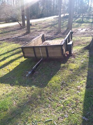 7 to 8 foot lawnmower trailer for Sale in Winder, GA