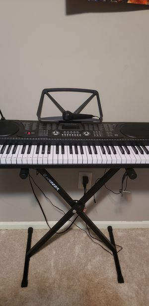 Keyboard Piano Hamzer Microphone Included 61 Keys for Sale in Delaware, OH
