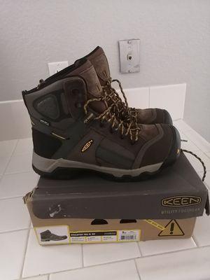 Brand new Keen Davenport work boots for men. Size 9ee. Composite toe. Waterproof for Sale in Riverside, CA