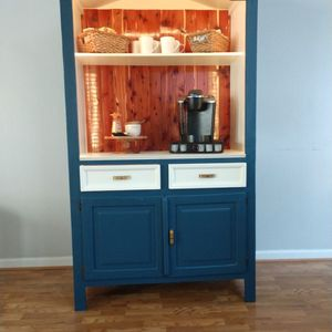 Upcycled Armoire Coffee Bar for Sale in Littleton, CO