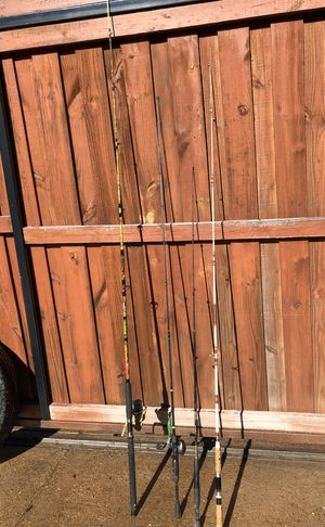 Fishing poles for Sale in Garland, TX
