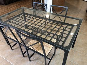 Dining set (Table + 4 chairs) for Sale in Austin, TX