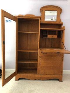 Antique cabinet/desk for Sale in Corte Madera, CA