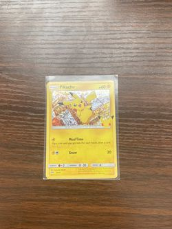 Holo McDonald's Pikachu for Sale in Garden Grove,  CA
