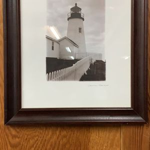 Framed lighthouse picture for Sale in Lynnwood, WA