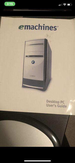 emachine Desktop PC for Sale in Moore, OK