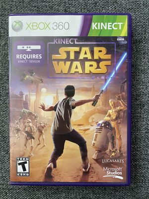 USED XBOX 360 Star Wars Game for Kinect for Sale in Tampa, FL