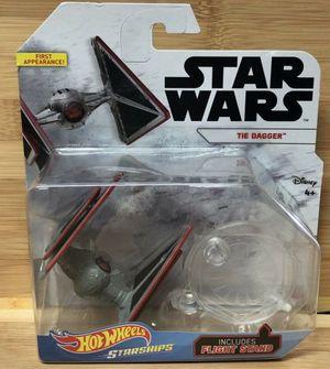 MATTEL Tie Dagger Hot Wheels Star Wars Starship for Sale in Sugar Land, TX
