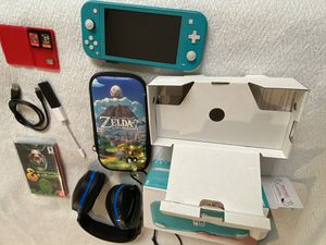 Turquoise Nintendo Switch *Super Bundle* for Sale in Deerfield Beach, FL