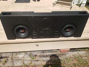 Q BOMB 10in truck speaker box for Sale in Haines City, FL