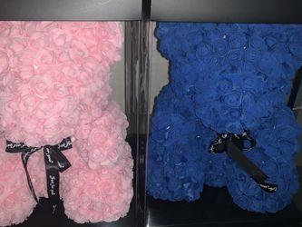 Blue Rose Teddy Bear for Sale in Long Beach,  CA