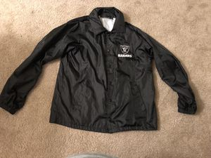 Vintage Oakland raiders windbreaker for Sale in Fife, WA