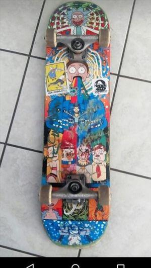 Primitive Rick and Morty skateboard for Sale in Ontario, CA