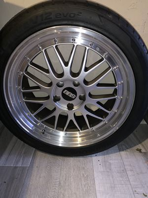 BBS 19 inch rims 114.3 for Sale in Hicksville, NY