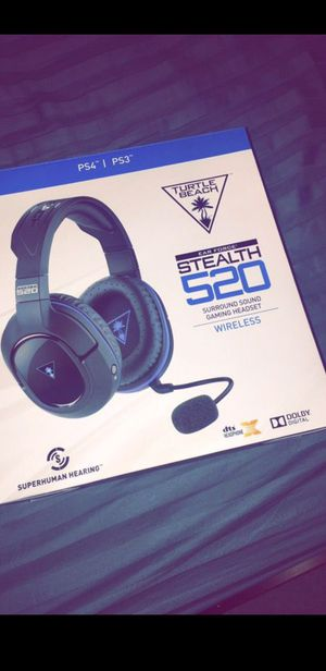 Turtle beach wireless headset 7.1 for Sale in Woodburn, OR
