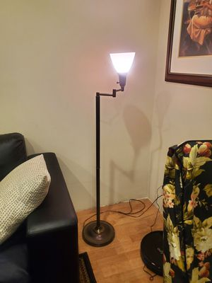 Brass floor lamp for Sale in Huntington Beach, CA