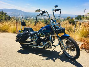 Harley Davidson '91 FXSTC Softail Custom for Sale in Los Angeles, CA