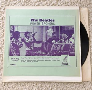 """The Beatles """"Power Brokers"""" vinyl lp 1976 Wizardo Records WRMB 392 unofficial pressing rare pristine condition for Sale in Placerville, CA"""