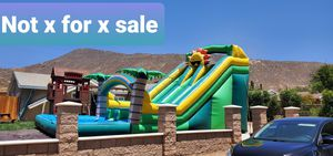 Jumpers/waterslide for Sale in Rialto, CA