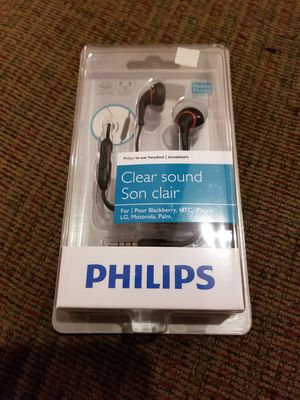 Philips clear sound headphones for Sale in Plant City, FL
