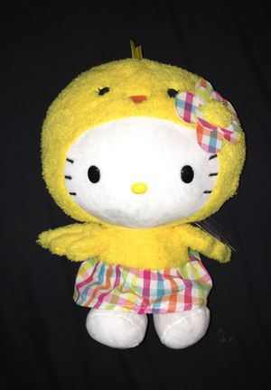 Hello kitty peep plush for Sale in Hanover, PA