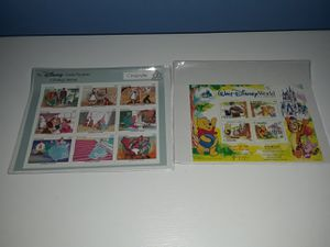 Disney postage stamps Cinderella and Winnie the Pooh for Sale in Cranston, RI