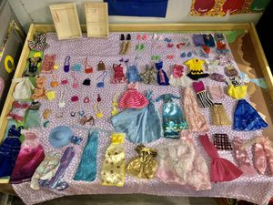 Barbie lot clothes, shoes and accessories for Sale in Anaheim, CA