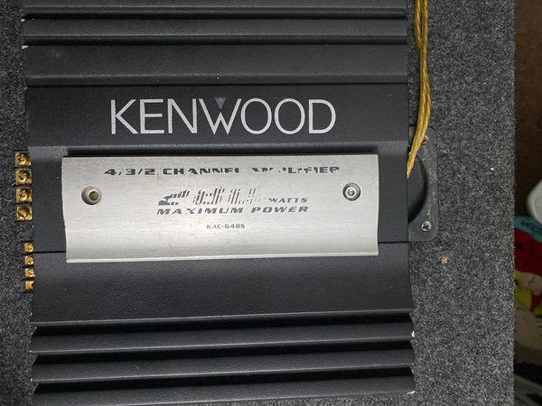 Kenwood 4 Channel amplifier 280 Watts