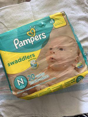 Newborn Pampers Swaddlers for Sale in Vista, CA