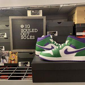 "Air Jordan 1 Mid ""Hulk"" for Sale in Philadelphia, PA"