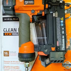 Ridgid 18-Gauge 2-1/8 in. Brad Nailer with CLEAN DRIVE Technology for Sale in Temple, GA