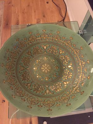 Beautiful antique glass bowl for Sale in Santa Monica, CA