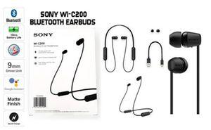 Sony WI-C200, Wireless, Bluetooth Headphones, Sony Hand Free Headphones, Manos Libre, Audifono Bluetooth, Headphones, Sony, Audifono for Sale in Miami, FL