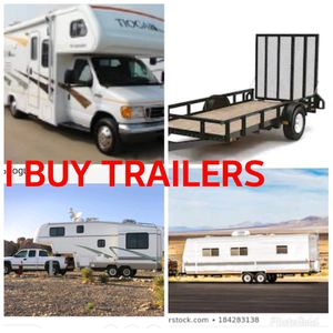 I will buy trailers quads dirtbikes cars for Sale in DEVORE HGHTS, CA
