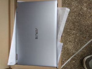 "ASUS - 15.6"" Touch-Screen Laptop - Intel Core i5 - 12GB Memory - 256GB Solid State Drive - Light Gray Notebook Tablet Q506FA-BI5T8 2-in-1 PC Computer for Sale in Wheaton, MD"