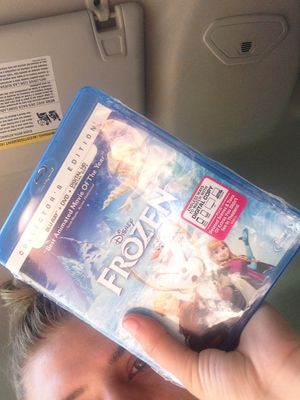 BLUE RAY movie Frozen $5 never used for Sale in Cypress, TX
