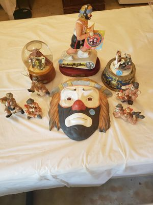 Emmett Kelly collection for Sale in Mount Gilead, OH