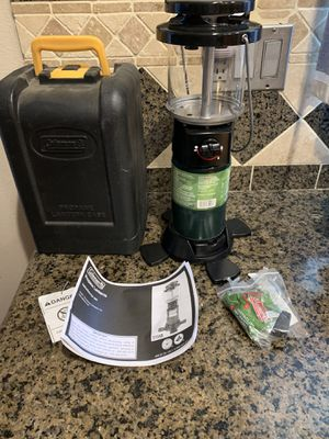 Brandnew Coleman Deluxe Propane Lantern w/Hard Carry for Sale in Palmdale, CA
