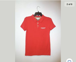 Boys Burberry Polo - size 14Y for Sale in Bartlett, IL