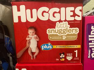 Huggies Diapers - Size 1 for Sale in NEW PRT RCHY, FL