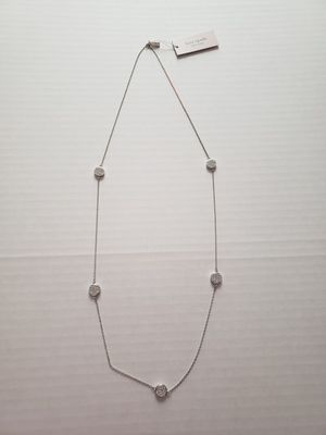 """New $149 Kate Spade Brightspot Scatter Silver Necklace - 32"""" for Sale in Henderson, NV"""
